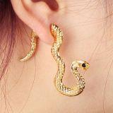 Серьга-клипса - Змея цена фото