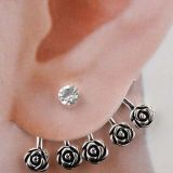 Stylish earrings - Flower