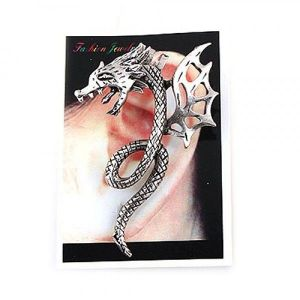 Earrings - Dragon