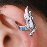 Earring in the shape of a Pegasus