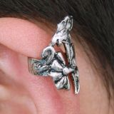 Earring clip punk style