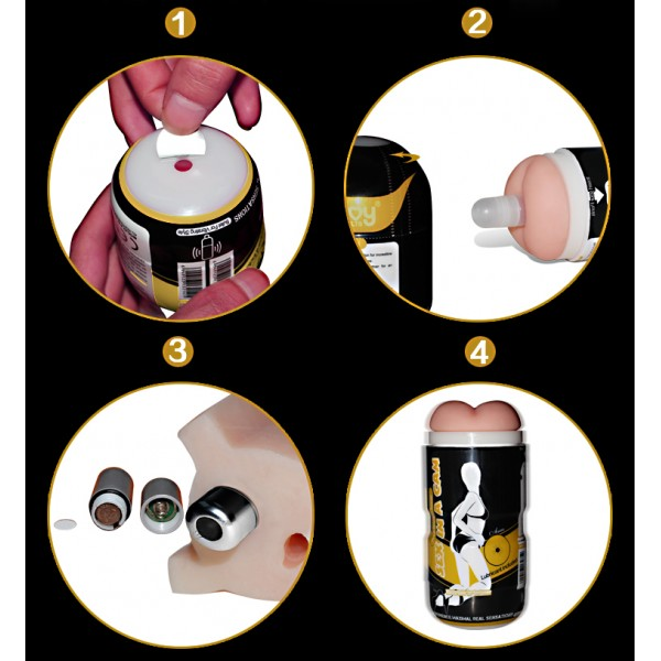 Masturbator-anus hand-SEX IN A CAN. Артикул: IXI40233