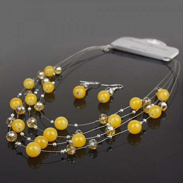 РАСПРОДАЖА! Набор серьг и ожерелья