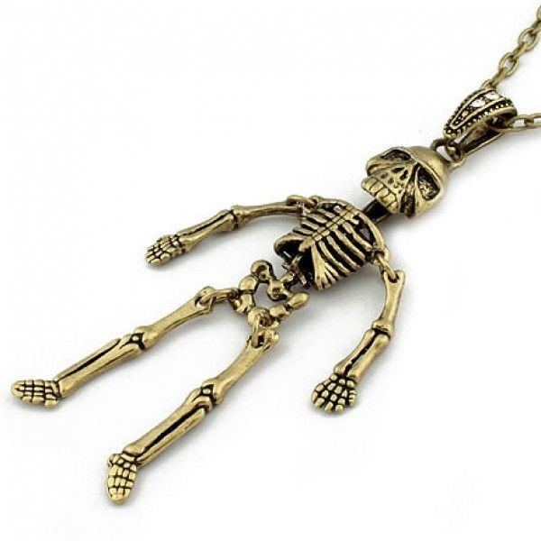 РАСПРОДАЖА! Подвеска - Скелет