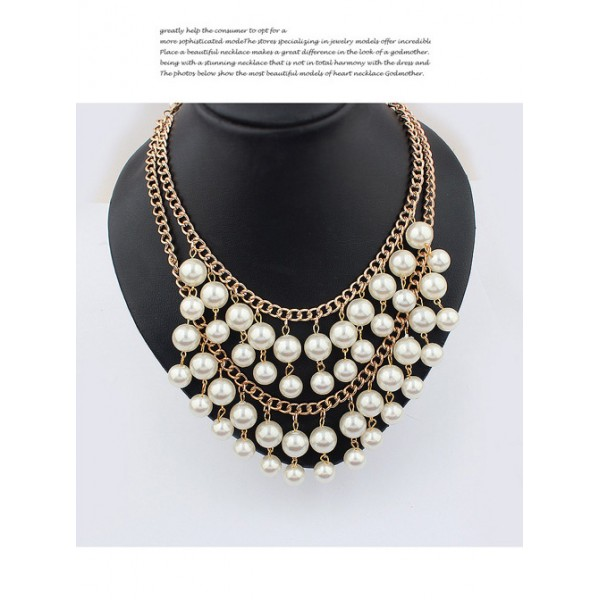 Double pearl necklace. Артикул: IXI40306