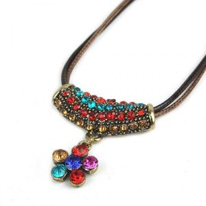 Multi-colored pendant
