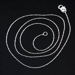 РАСПРОДАЖА! Серебряная цепочка 45 см - Подвески и ожерелья