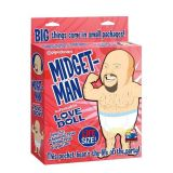 Резиновая кукла Midget-Man телесного цвета
