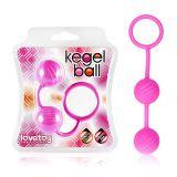 Мячики кегеля розовые ребристые по оптовой цене
