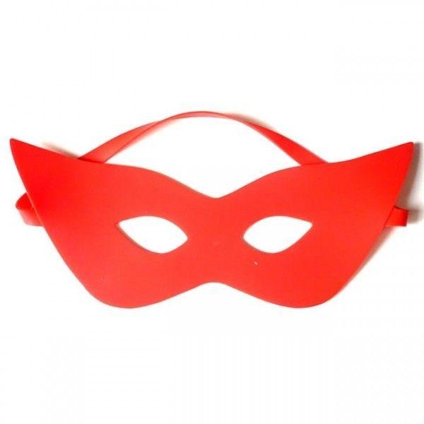 BDSM (БДСМ) - Силиконовая маска красного цвета - Рейнджер