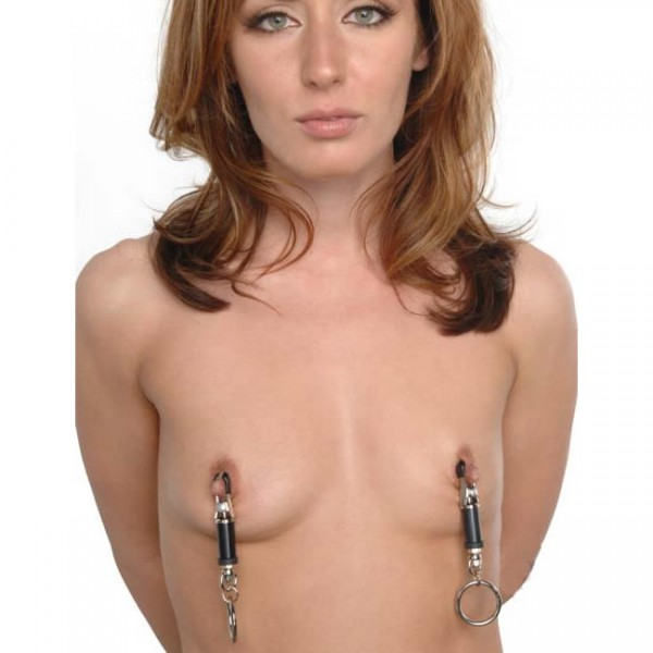 BDSM (БДСМ) - <? print Зажимы для сосков с кольцами; ?>