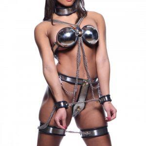 Stainless steel Premium chastity Belt. Артикул: IXI40565