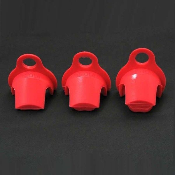 BDSM (БДСМ) - KSD-G3 Силиконовый замок для поясов верности CB-6000 (A, B и C) красный