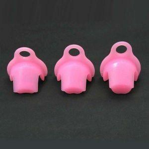 KSD-G3 Силиконовый пояс верности CB-6000 (A, B и C) розовый