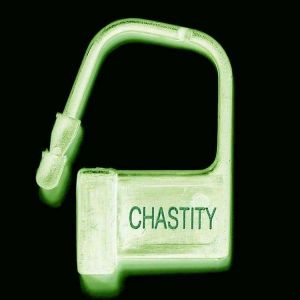 Plastic locks 10 PCs LUMINOUS-ChASTITY