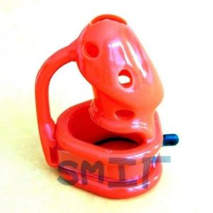 Birdlocked Silicone Chastity Device Kali�s Teeth Spiked Inside RED COLOR