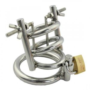 Original steel chastity device