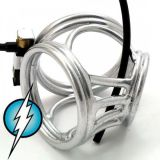 BDSM (БДСМ) - Electric Shock E-Stim Electrosex Silver Crown Circus Made From Expensive Brass