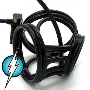 Electric Shock E-Stim Electrosex Black Crown Circus Made From Expensive Brass