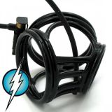 BDSM (БДСМ) - Electric Shock E-Stim Electrosex Black Crown Circus Made From Expensive Brass