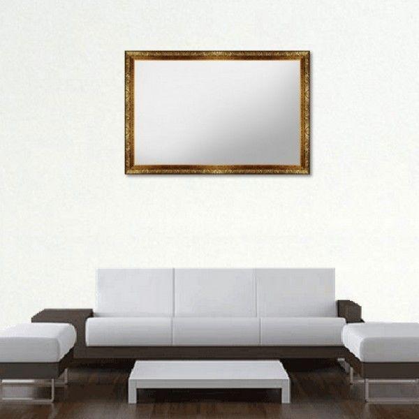 Зеркало в рамке из багета, 95х60