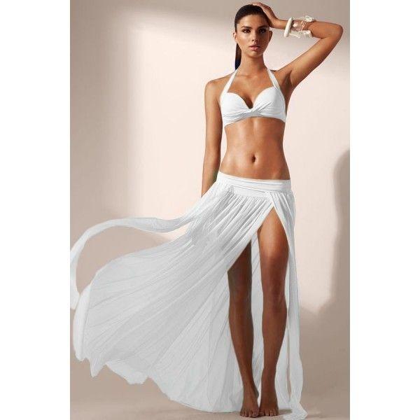 Элегантная пляжная юбка