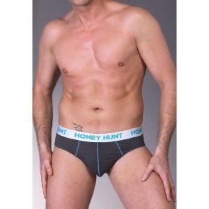 Классические трусы серого цвета - Мужское белье