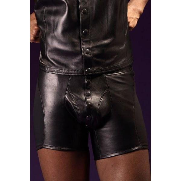 BDSM (БДСМ) - <? print Виниловый жакет и шорты на пуговицах; ?>