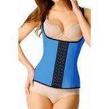 Blue Steel Boned Latex Waist Trainer Vest