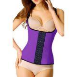 Purple waist corset