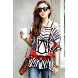 Street Fashion Loose Fit Chiffon Blouse