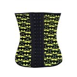 Plus Halloween Fashion 4 Steel Bone Batman Waist Trainer