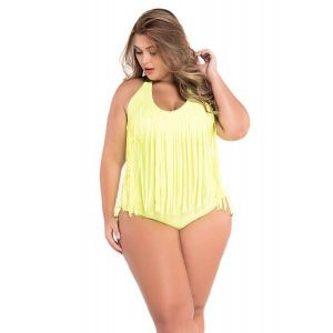 Neon yellow swimsuit. Артикул: IXI42284