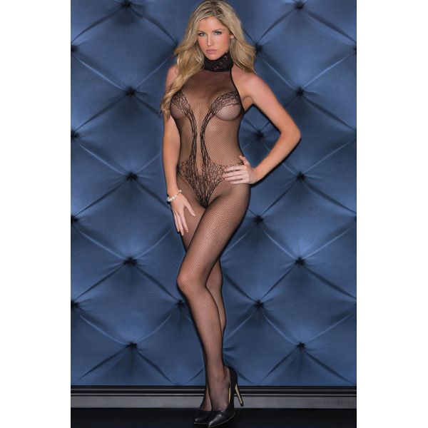 Комбинезон Lacy Vixen Fishnet Bodystocking