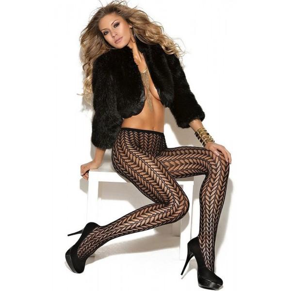 Sexy black fishnet tights. Артикул: IXI42424