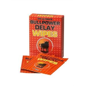 Wipes to delay ejaculation Bull Power Wipes 6 PCs of 2 ml.