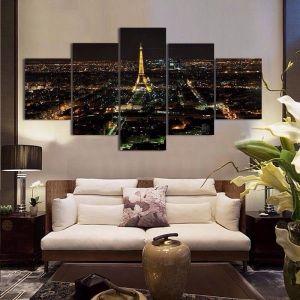 Modular picture of 5 pieces, night city, 180С…100. Артикул: IXI42751