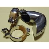Plum blossom hole winding Closed Male Chastity Device/ Stainless Steel Male Sprinkler Chastity Cage