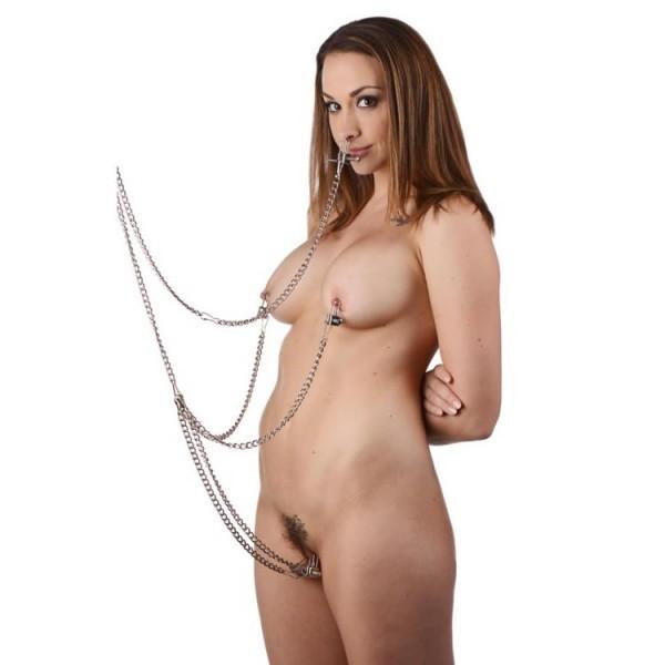 BDSM (БДСМ) - <? print Хомут и цепи рабства набор (5 шт); ?>