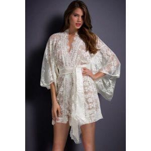 White transparent gown. Артикул: IXI42971
