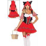 Сексапильный костюм красной шапочки по оптовой цене