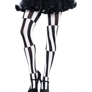 Original black and white leggings. Артикул: IXI43308
