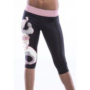 Короткие черные леггинсы - Спортивная одежда