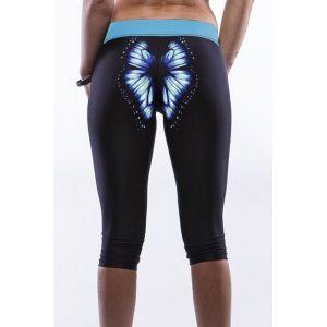 Short leggings Butterfly