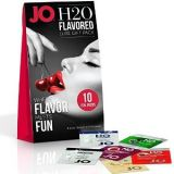 JO h2O FLAVORED LUBE FOIL GIFT PACK