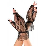 Gloves lace black