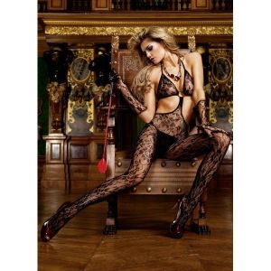 Erotic lace jumpsuit. Артикул: IXI43967