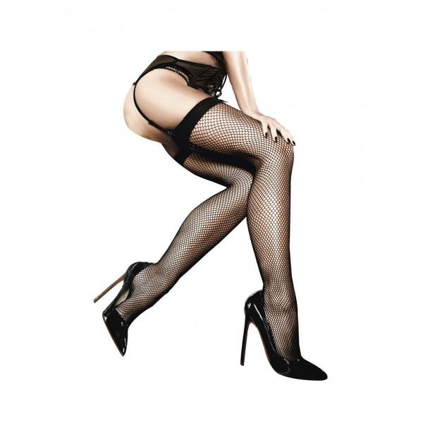 SALE! Stockings black, fishnet AD2001. Артикул: IXI43975