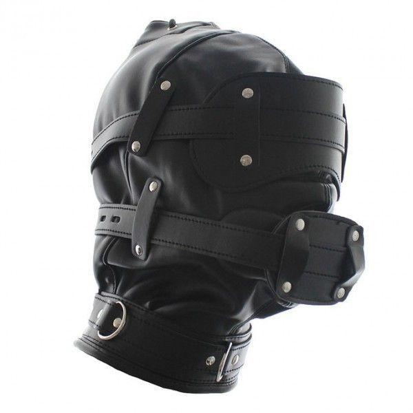 BDSM (БДСМ) - Закрытая кожаная маска