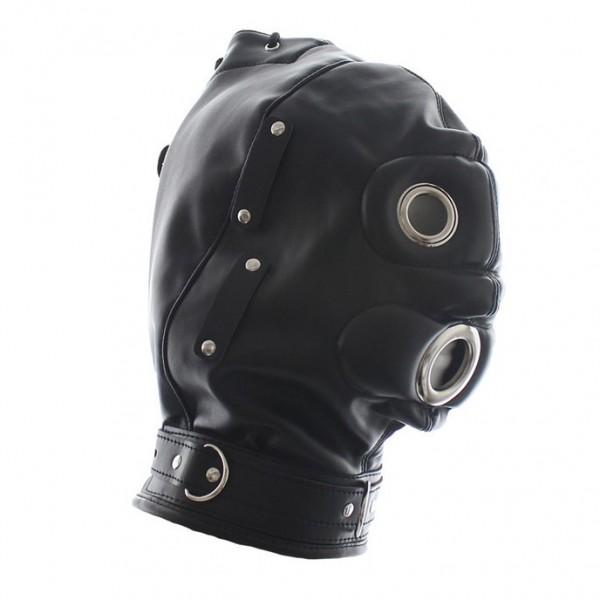 BDSM (БДСМ) - <? print Закрытая кожаная маска; ?>